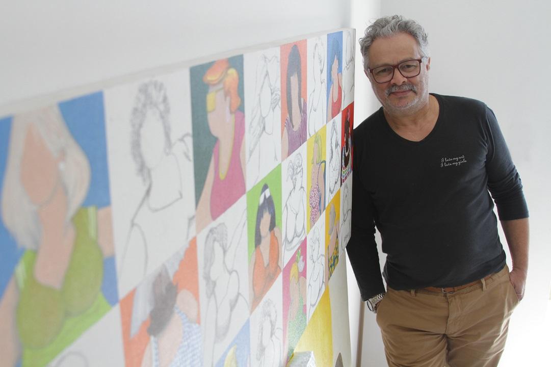II Vernissage na M8: a arte alegre de Dudu Rodrigues